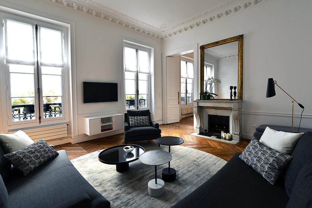 decorateur interieur appartement haussmannien