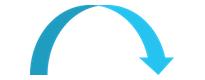 Flèche bleue pte bas 205x80