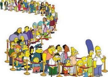 Simpson file d'attente