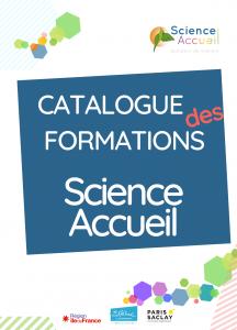 Catalogue des formations Science Accueil